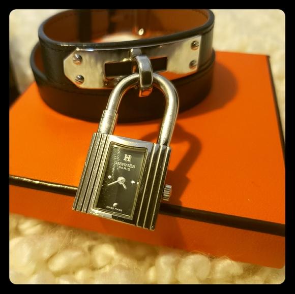 Hermes Accessories - HERMES BARENEA KELL WRAP AROUND WATCH